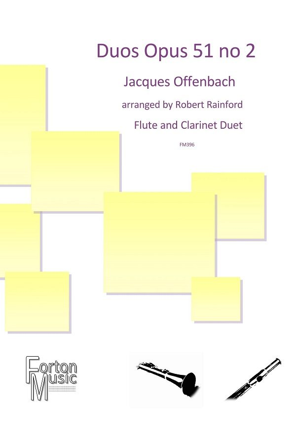 Flute and Clarinet duet Archives - Forton Music