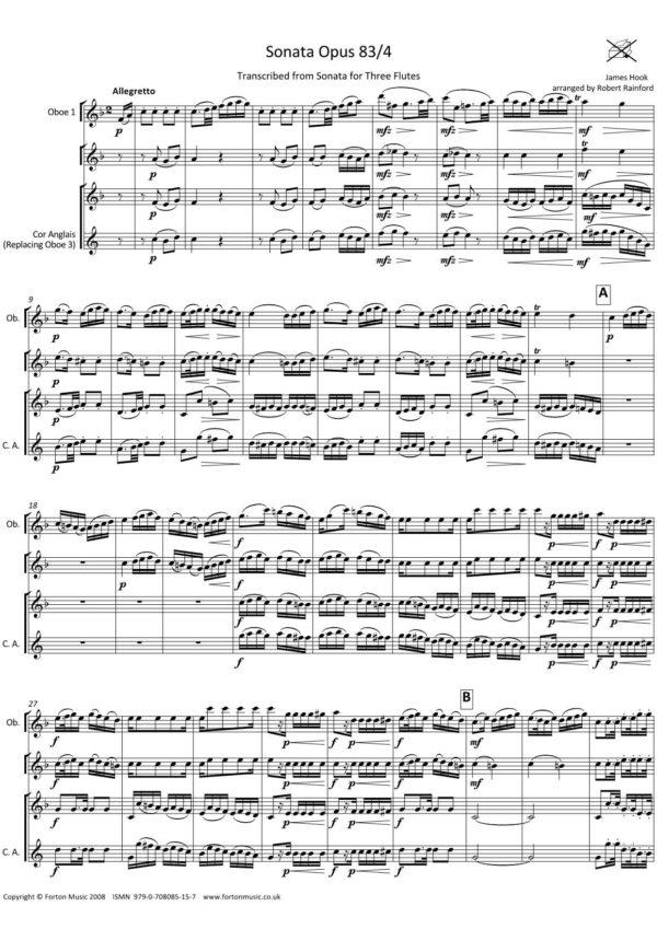 Sonata Opus 83/4