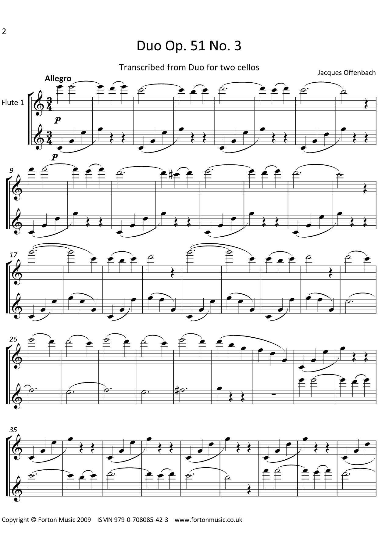 Duos Opus 51 no 3