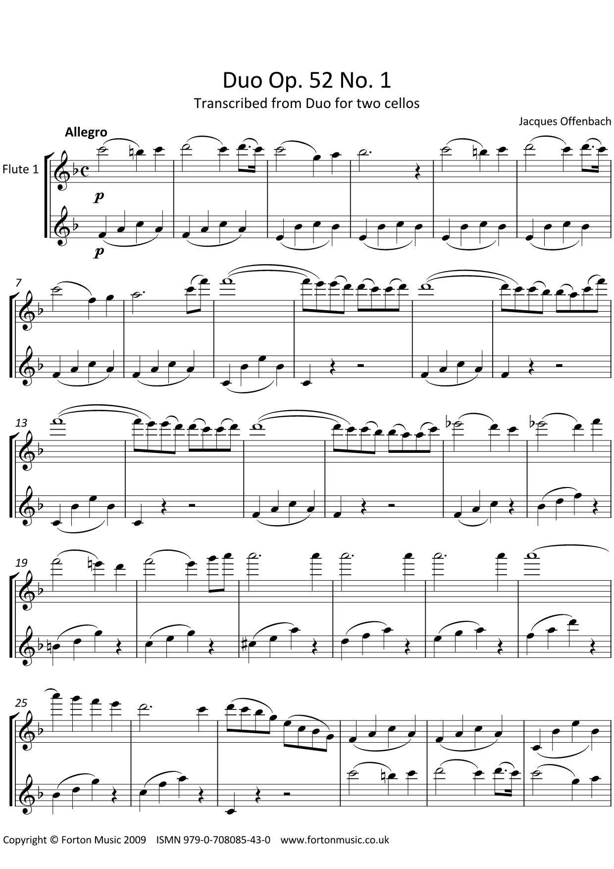 Duos Opus 52 no 1