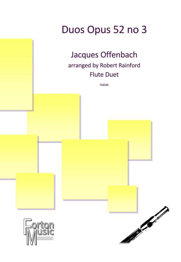 Duos Opus 52 no 3