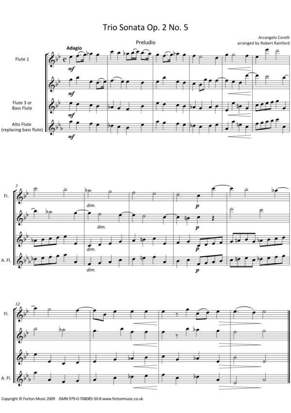 Trio Sonatas Op 2 nos 5-8