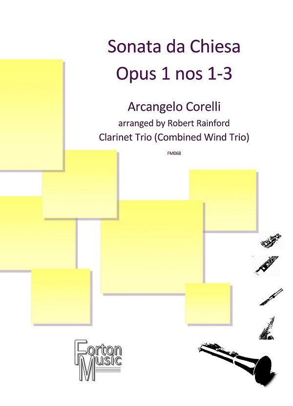 Sonata da Chiesa Op 1 nos 1-3