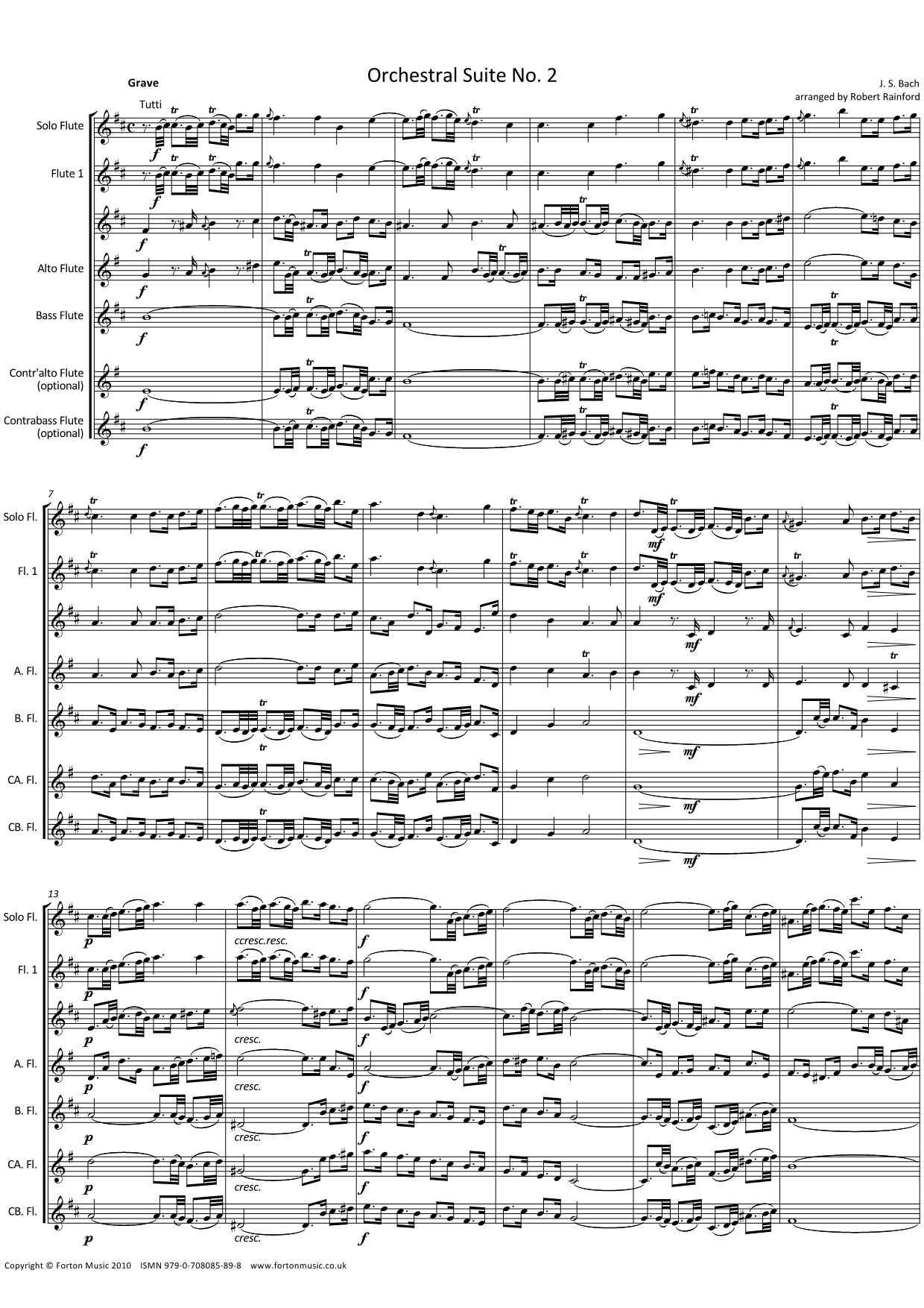 Orchestral Suite no 2