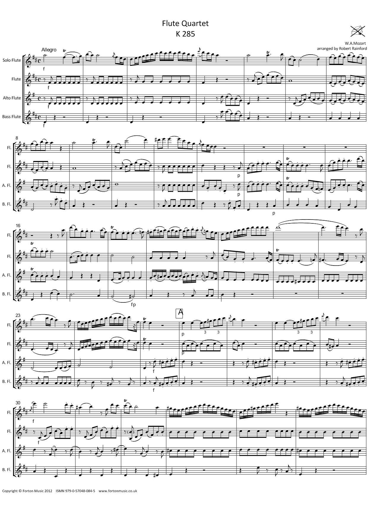 Quartet K285