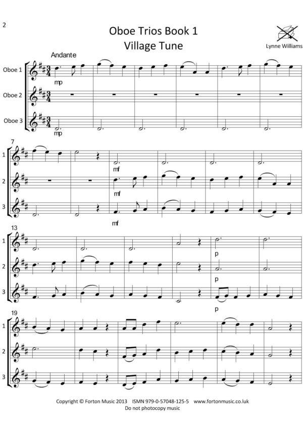 Oboe Trios Book 1