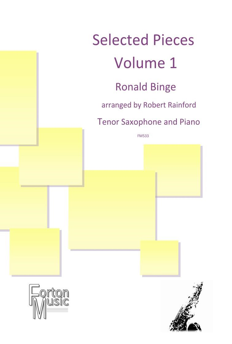 Selected Pieces by Ronald Binge Volume 1