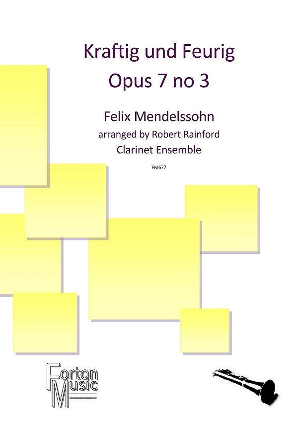 Kraftig und Feurig Op. 7 No. 3