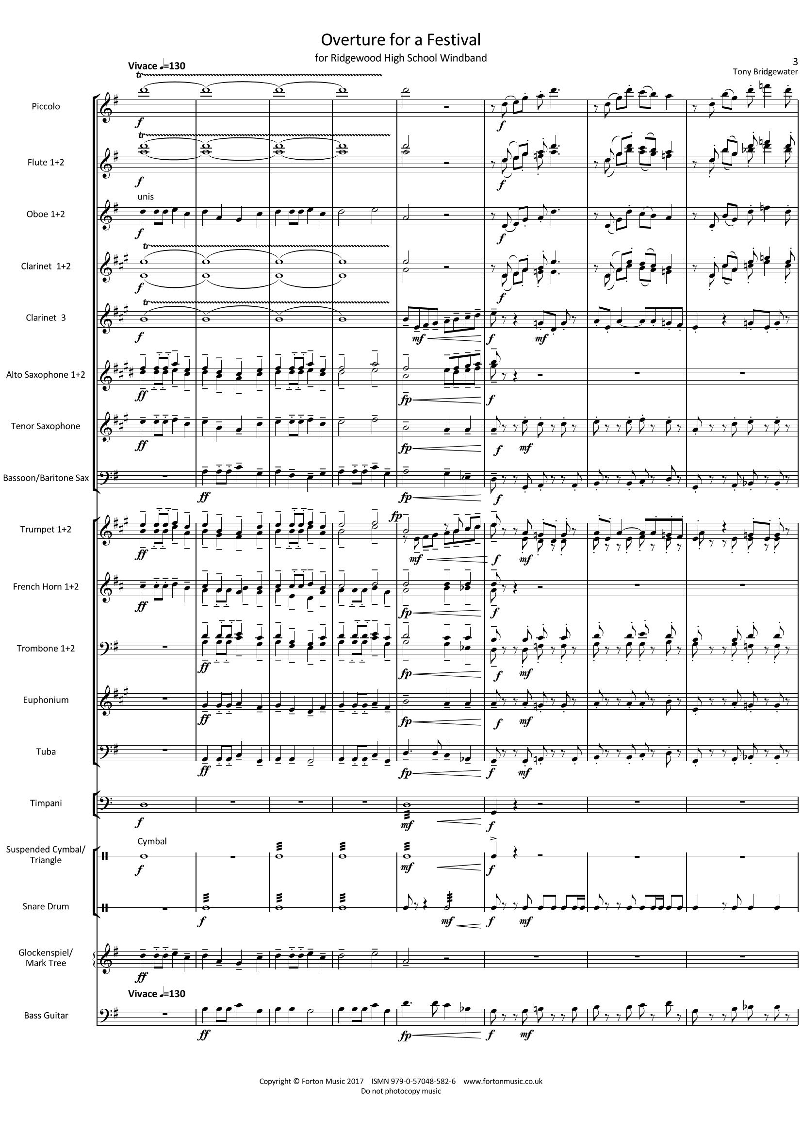 Overture for a Festival
