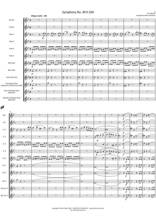 Symphony No. 40 K550