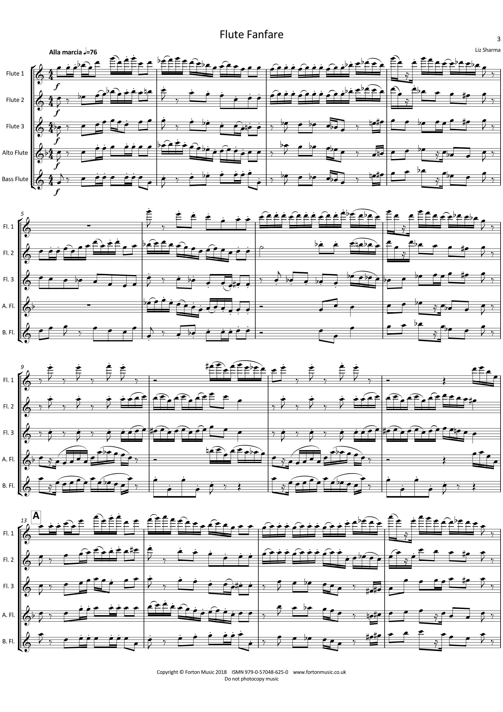 Flute Fanfare