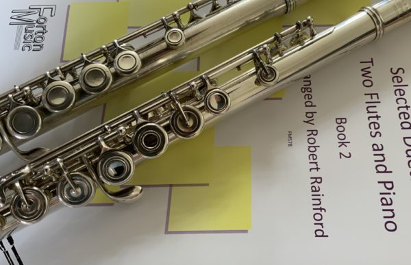 Two Flutes and Piano